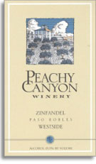 2006 Peachy Canyon Winery Zinfandel Westside Paso Robles