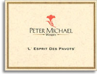 2010 Peter Michael Winery L'Esprit de Pavots Red Wine Knights Valley