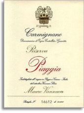 2001 Piaggia Carmignano Riserva