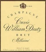 1990 Deutz Cuvee William Deutz Brut
