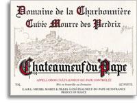 2011 Domaine de la Charbonniere Chateauneuf-du-Pape Cuvee Mourre des Perdrix
