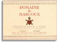2009 Domaine de Marcoux Chateauneuf-du-Pape