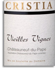 2006 Domaine De Cristia Chateauneuf Du Pape Vieilles Vignes