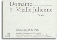 2001 Domaine de la Vieille Julienne Chateauneuf-du-Pape Reserve