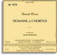 2013 Domaine de L'Hortus VdP du Val de Montferrand Grande Cuvee Blanc