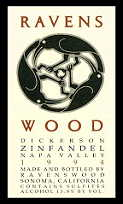 2010 Ravenswood Winery Zinfandel Dickerson Vineyard Napa Valley