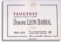 2009 Domaine Leon Barral Faugeres Cuvee Jadis