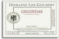 2009 Domaine Les Goubert Gigondas