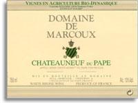 2008 Domaine de Marcoux Chateauneuf-du-Pape Blanc