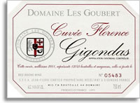 2009 Domaine Les Goubert Gigondas Cuvee Florence