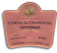 1995 Taittinger Comtes De Champagne Brut Rose