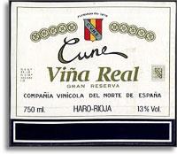 2007 Cune Vina Real Rioja Gran Reserva
