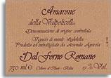 2000 Dal Forno Amarone Della Valpolicella