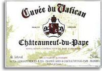 2011 Cuvee du Vatican Chateauneuf-du-Pape