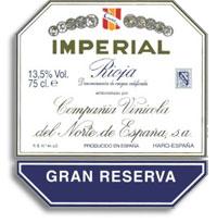 2001 CVNE (Cune) Imperial Rioja Gran Reserva