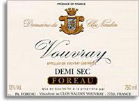 2006 Domaine du Clos Naudin, Philippe Foreau Vouvray Demi Sec