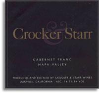 2004 Crocker & Starr Cabernet Franc Saint Helena