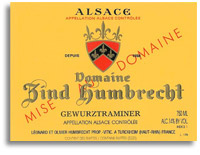 2012 Domaine Zind Humbrecht Gewurztraminer
