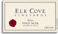 2010 Elk Cove Vineyards Pinot Noir Shea Willamette Valley