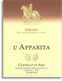 2007 Castello di Ama L'Apparita Toscana Rosso
