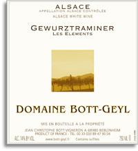 2009 Domaine Bott-Geyl Gewurztraminer Les Elements