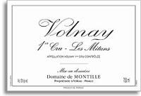 2011 Domaine De Montille Volnay Les Mitans