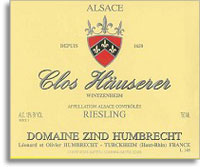 2007 Domaine Zind Humbrecht Riesling Clos Hauserer