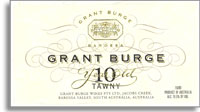 NV Grant Burge Wines 10 Year Old Oak Matured Port Barossa