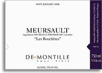 2005 Maison Deux Montille Soeur Et Frere Meursault Les Boucheres