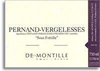 2010 Maison Deux Montille Soeur et Frere Pernand-Vergelesses Le Sous Fretille