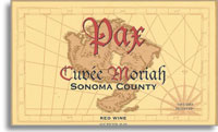 2005 Pax Wine Cellars Red Wine Cuvee Moriah Sonoma County