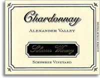 2010 Scherrer Winery Chardonnay Scherrer Vineyard Alexander Valley
