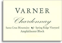 2010 Varner Chardonnay Spring Ridge Vineyard Amphitheater Block Santa Cruz Mountains