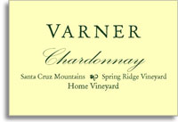 2010 Varner Chardonnay Spring Ridge Vineyard Home Block Santa Cruz Mountains