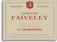 2012 Domaine Faiveley Mercurey Les Framboisiere