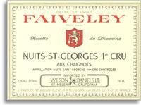 2010 Domaine Faiveley Nuits-Saint-Georges aux Chaignots