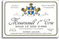 2011 Domaine Leflaive Meursault Sous le Dos d'Ane