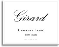 2007 Girard Winery Cabernet Franc Napa Valley