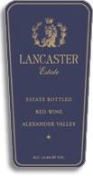 2000 Lancaster Estate Red Wine Alexander Valley