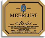 2001 Meerlust Estate Merlot Stellenbosch