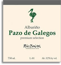 2007 Pazo De Galegos Albarino Rias Baixas