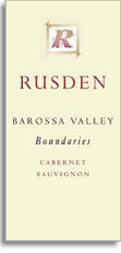 2010 Rusden Wines Cabernet Sauvignon Boundaries Barossa Valley