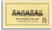 2011 Boekenhoutskloof Cabernet Sauvignon Franschhoek