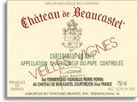 2010 Chateau de Beaucastel Chateauneuf-du-Pape Blanc Vieilles Vignes