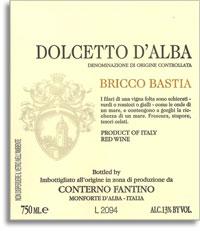 2010 Conterno Fantino Dolcetto d'Alba Bricco Bastia