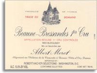 2007 Domaine Albert Morot Beaune Bressandes