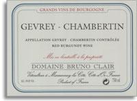 2010 Domaine Bruno Clair Gevrey-Chambertin