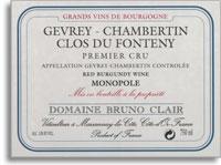 2006 Domaine Bruno Clair Gevrey-Chambertin Clos du Fonteny