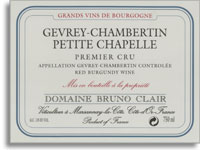 2003 Domaine Bruno Clair Gevrey-Chambertin Petite Chapelle