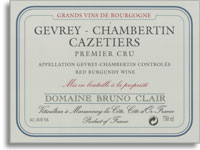 2008 Domaine Bruno Clair Gevrey-Chambertin Cazetiers